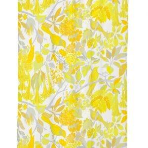 Vallila Esmeralda Verho Yellow 140x250 Cm
