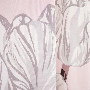 Vallila Estelle Fancy Verho Pink 140x250 Cm