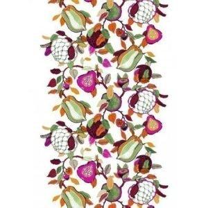 Vallila Fruity valmisverho 140 x 250 pinkki