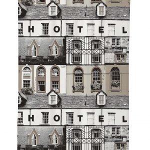 Vallila Hotel Verho Ruskea