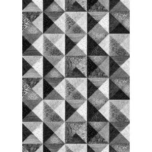 Vallila Interior Sintra Valmisverho 140 X 250 cm mustavalkoinen