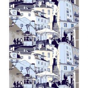 Vallila Lissabon Valmisverho