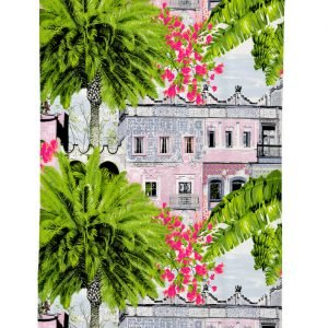 Vallila Mexico Verho Pink 140x250 Cm