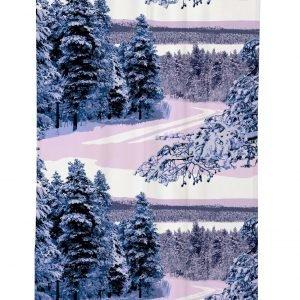 Vallila Pohjoinen Verho Sininen 140x250 Cm