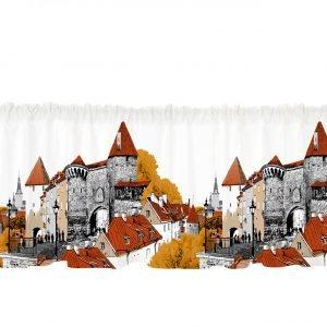 Vallila Tallinna Kappa Oranssi 60x250 Cm