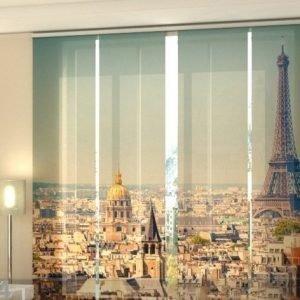 Wellmira Pimentävä Paneeliverho Morning In Paris 240x240 Cm