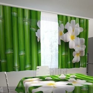 Wellmira Pimentävä Verho Bamboo In The Kitchen 200x120 Cm