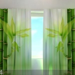 Wellmira Pimentävä Verho Green Bamboo 240x220 Cm