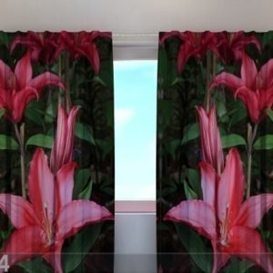 Wellmira Pimentävä Verho Lilies In The Garden 240x220 Cm