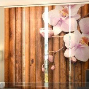 Wellmira Puolipimentävä Paneeliverho Dry Bamboo 240x240 Cm