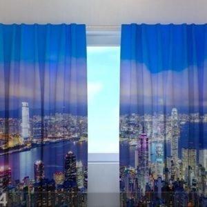 Wellmira Puolipimentävä Verho Hong Kong 240x220 Cm