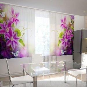 Wellmira Puolipimentävä Verho Perfection In The Kitchen 200x120 Cm