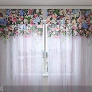 Wellmira Sifonki-Kuvaverho Flower Lambrequins Fantasy 240x220 Cm