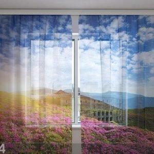 Wellmira Sifonki-Kuvaverho Flowers 3