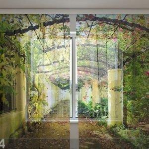 Wellmira Sifonki-Kuvaverho Green Archway 240x220 Cm