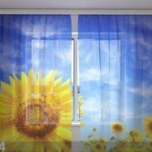 Wellmira Sifonki-Kuvaverho Sunflower 240x220 Cm